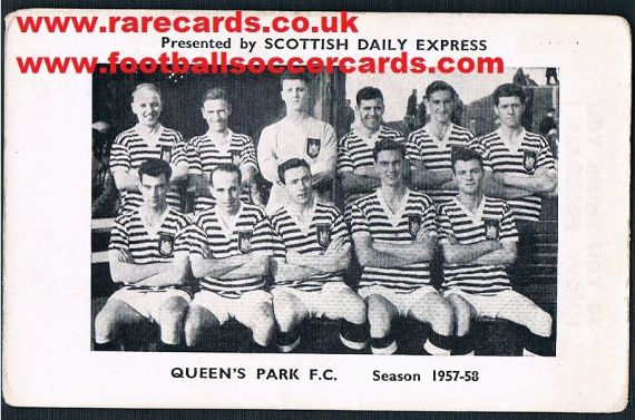 1957 Scots Daily Express Queen's Park